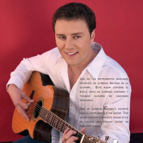 "Lorenzo Antonio ""Canta Rancheras Y Mas"" CD in 1"