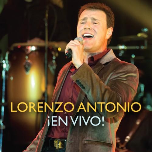 """Lorenzo Antonio """"¡En Vivo!"""" CD cover"""