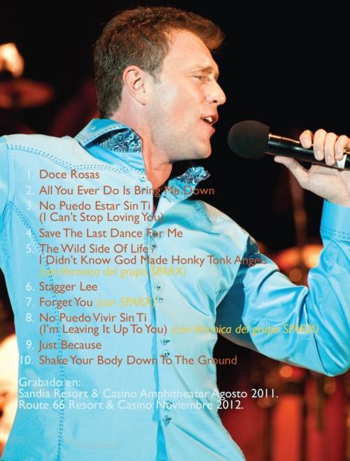 """Lorenzo Antonio """"¡En Vivo!"""" DVD back"""