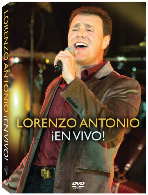 "Lorenzo Antonio ""¡En Vivo!"" DVD cover"