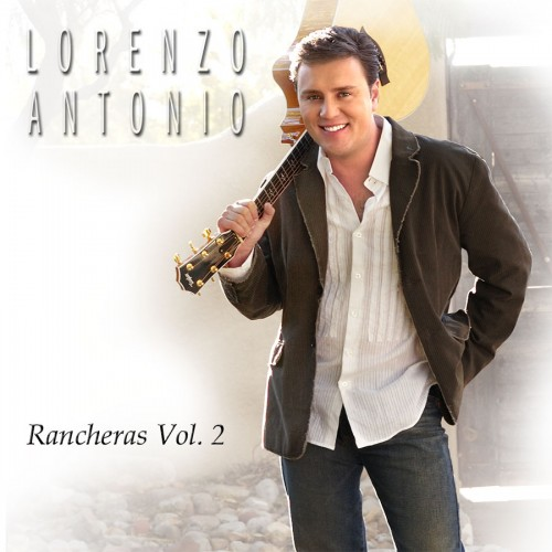 "Lorenzo Antonio ""Rancheras Vol. 2"" CD cover"