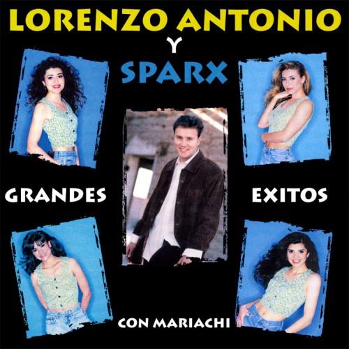 """Lorenzo Antonio y Sparx """"Grandes Exitos Con Mariachi"""" CD cover"""