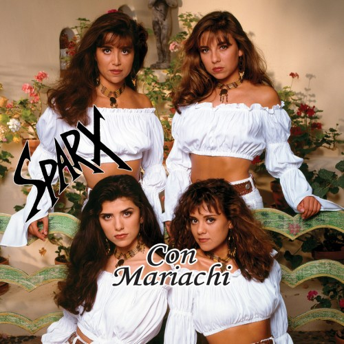 "Sparx ""Con Mariachi"" CD cover"