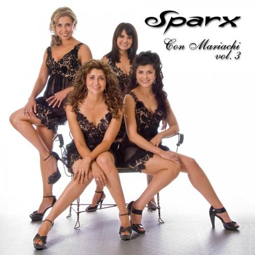 """Sparx """"Con Mariachi vol. 3"""" CD cover"""