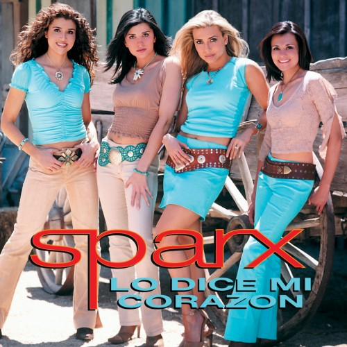 "Sparx ""Lo Dice Mi Corazon"" CD cover"