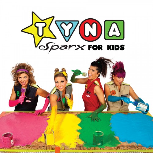 """Tyna Sparx For Kids"" CD cover"